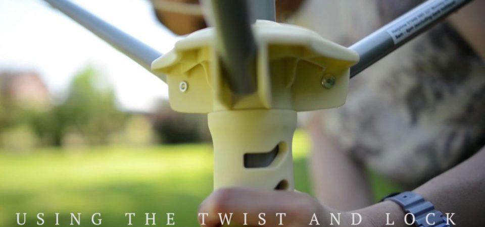How do I use the Twist & Lock mechanism?